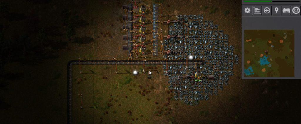 Minecraftをプレイしたことがない文系人間が送る「Factorio」攻略その12:生産施設の大規模化