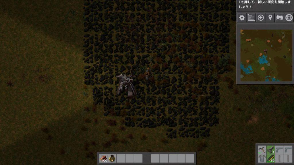 Minecraftをプレイしたことがない文系人間が送る「Factorio」攻略その7:「石炭を自動で採掘しよう」