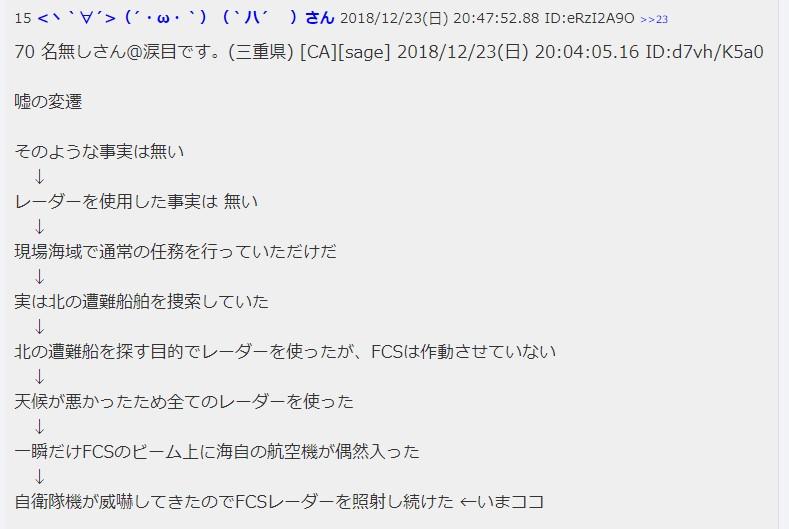 """<span class=""""title"""">韓国経済、【レーダー照射】 日本の哨戒機が威嚇的に接近してきたので撮影用光学カメラを稼働~ビーム放射はせず=韓国軍</span>"""