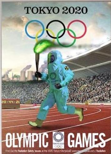 日本の防衛 2020年、韓国の政府機関VANKが東京五輪を揶揄するポスターを作成。