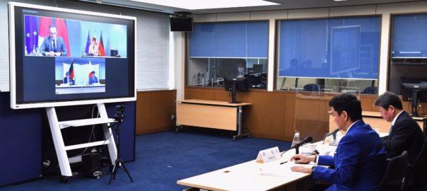 日本の防衛 〔日独外務・防衛閣僚会合「2+2」〕「自由で開かれたインド太平洋」実現に向けて緊密に連携