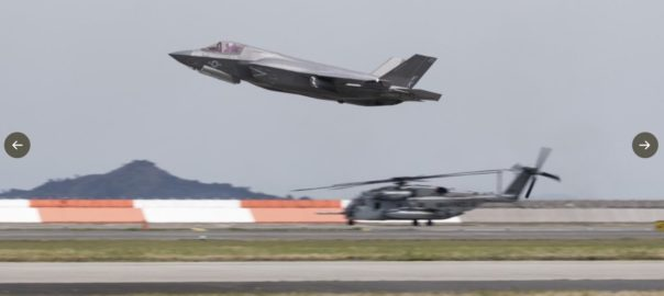 日本の防衛 航空自衛隊F15、F2と米空軍のF15が九州西方の東シナ海上の空域で防空戦闘訓練を実施